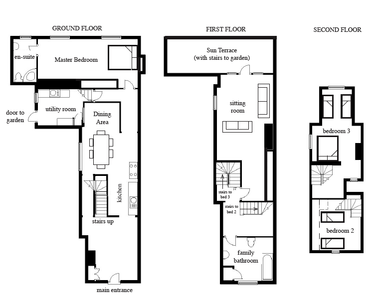 Floor plan for Floor plans you can edit
